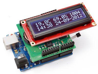10 Portable Arduino Weather Station AWS Arduino