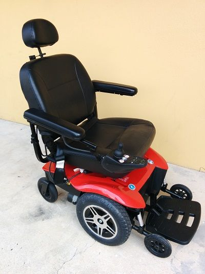 Used Pride Jazzy Elite Hd Power Wheelchair Electric Scooter For