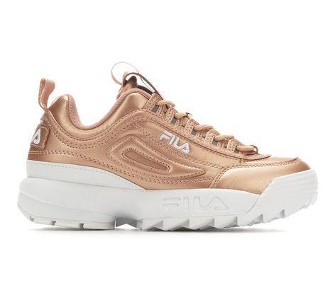 Women's Fila Disruptor II Premium Metallic Sneakers | Fila