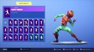 Fortnite Tomatohead Skin Showcased With 80 Dances Emotes Dance