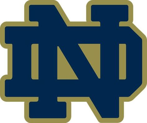 Notre Dame ND Logo Vinyl Decal / Sticker 10 Sizes!!!
