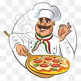 Vector Chef Chef Cartoon Chef Vector Chef Pizza Png E Vector Logomarca Pizzaria Logotipo De Loja Cozinheiro Chefe
