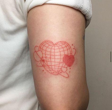 Red Ink Tattoos, Dainty Tattoos, Pretty Tattoos, Mini Tattoos, Cute Tattoos, Body Art Tattoos, Small Tattoos, Tatoos, Basic Tattoos