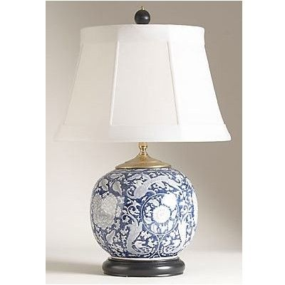 Blue And White Porcelain Temple Jar Table Lamp   Lighting   Pinterest   Jar  Lamp, White Porcelain And Porcelain
