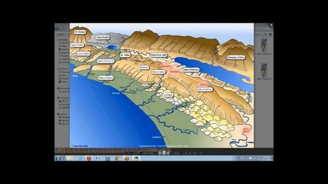 Virtual Israel Touring - 3D map of Israel | Bible mapping ... on