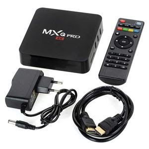 Tv Box Mxq Pro 4k Smart Tv Aparelho Decodificacao