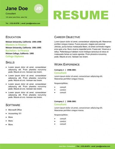 Resume Careers Pinterest Creative cv, Design inspiration and - entertainment industry resume