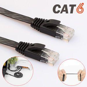 A 1235810m Flat Rj45 Cat6 Lan Utp Patch Router Network Red Ethernet Cable Telecomunicaciones