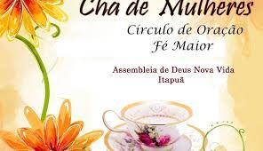 Resultado De Imagem Para Convites Para Cha De Circulo De Oracao