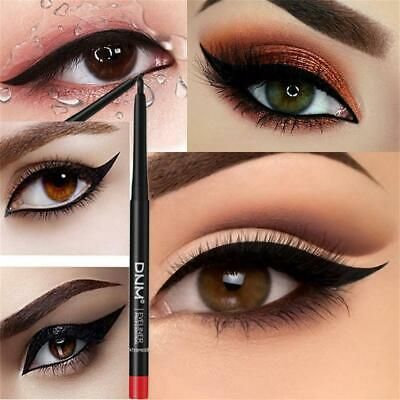 Cosmetic Longlasting Eye Makeup Smudge Proof Charming Matte Eyeliner Pencil Pencil Eyeliner Eyeliner Eye Makeup