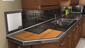 Image Result For Images Of A Border Inlay In Kitchen Countertops Tile Countertops Kitchen Tile Countertops Granite Countertops Kitchen