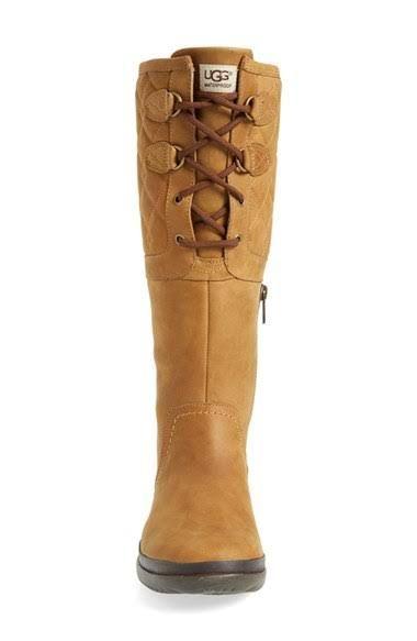 e52cd4c699b UGG Elsa Deco Quilt Women's Rain Boots in Black Size 07.5 | Glamping ...