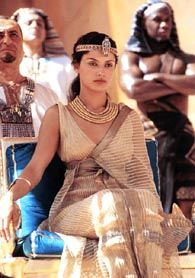 Sources say the costumes featured on Leonor Varela's Cleopatra were more accurate than most.