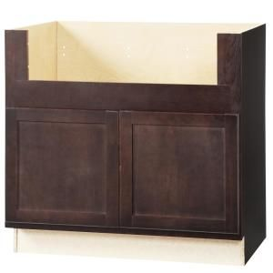 Hampton Bay Hampton Assembled 36x34 5x24 In Accessible Sink Base Kitchen Cabinet In Unfinis Apron Front Sink Custom Kitchen Cabinets Painting Kitchen Cabinets
