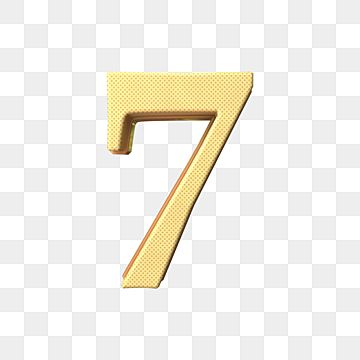 3d Number 7 Luxury Number Numbers 3d Number Png Transparent Clipart Image And Psd File For Free Download In 2021 Clip Art Backdrops Backgrounds Prints For Sale