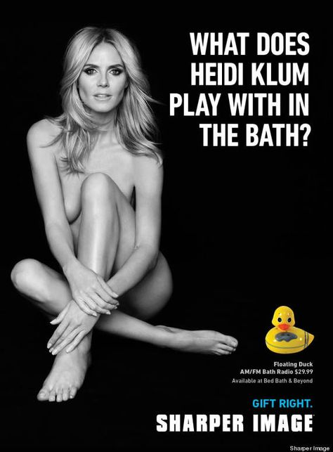 Heidi Klums Sexy Ad Campaign Featuring Underboobs Banned