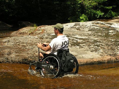All Terrain Wheelchair Takes Montana Man To New Heights Powered