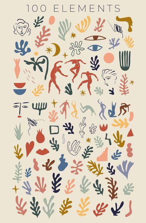 Matisse Tattoo, Matisse Art, Matisse Prints, Matisse Drawing, Matisse Cutouts, Henri Matisse, Poster Wall, Poster Prints, Posters