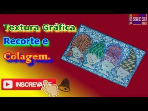 Textura Grafica Recorte E Colagem Artes Visuais Aula De Artes