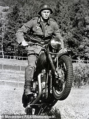 The Great Escape.Unearthed Footage Shows Steve Mcqueen On Set Of The Great