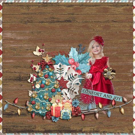 mistletoe Gorgeous layout by CTM Karen...