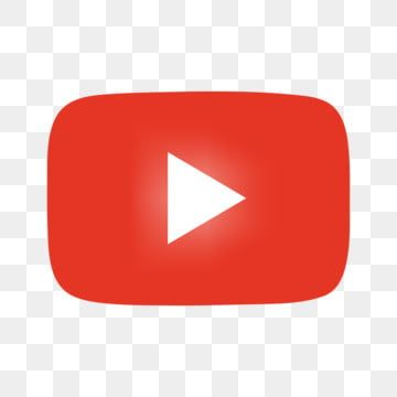 Youtube Red Play Button Free Png Red Play Youtube Red Blue Business Card