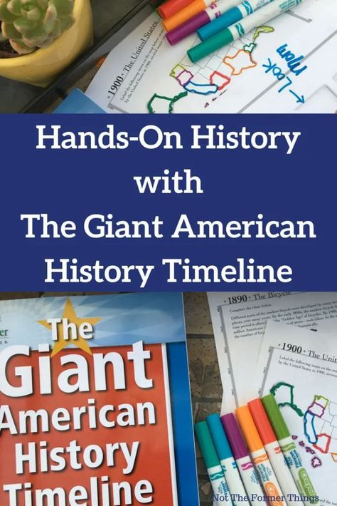 Photo of teaching history timeline Social Studies