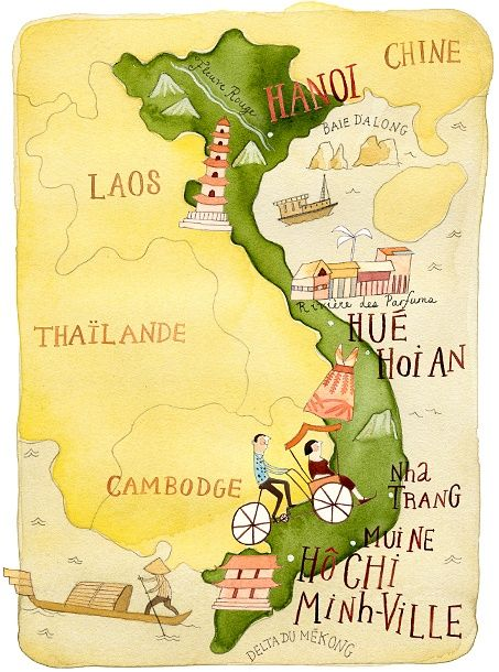 vietnam itinerary 10 days Vietnam is a S-shaped country