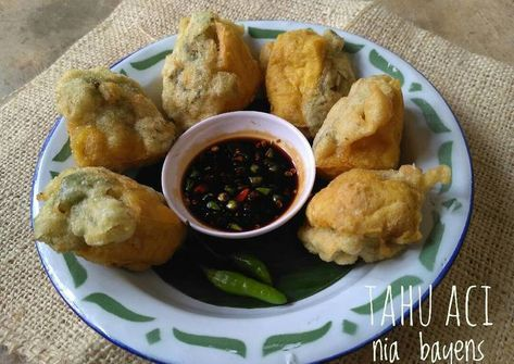Resep Tahu Aci Slawi Tegal Pr Jajanandaerah Oleh Nia Bayens Resep Resep Tahu Resep Makanan Resep Masakan Indonesia