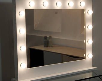 Hollywood Makeup Vanity Mirror With Lights Impressions Etsy In 2021