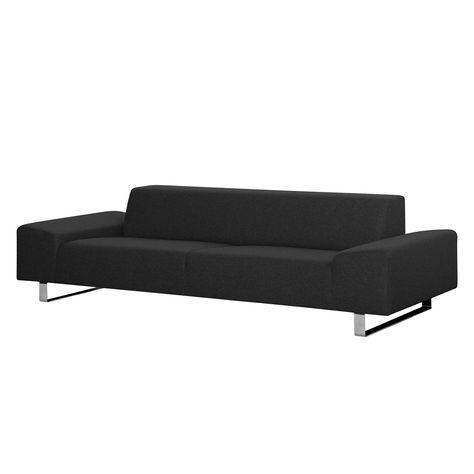 Sofa Kato 3 Sitzer Webstoff Stoff Felia Ii Anthrazit Jetzt