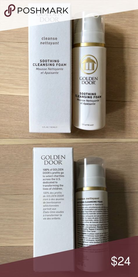 Nwt Golden Door Soothing Cleansing Foam 5 Fl Oz Brand New Never Used Full Size Product Smoothing Cleaning 0 Retails For 48 At Neiman
