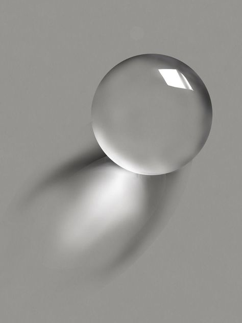 The Transparency of a Glass Sphere