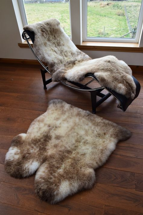 Cream Medium 95 X 60cm Sheepskin Rug