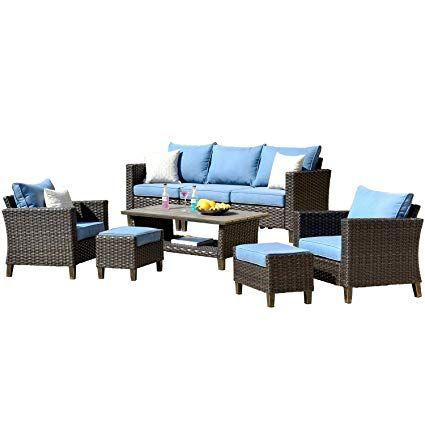 1149amazon Com Ovios Patio Furnitue Outdoor Furniture Sets