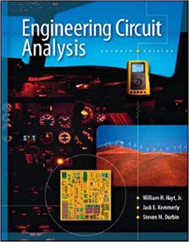 For Title Engineering Circuit Analysis Edition 7th