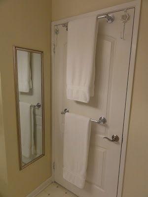 Door Towel Rail Over The Rack
