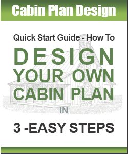 Small Cabin Plans Designs Use Our Blueprints or Design Your Own