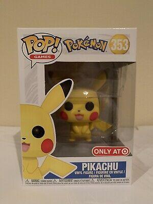 Brand New Target Exclusive 353 Funko Pop Pokemon Pikachu Figure