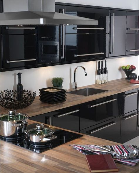 20+ Elegant Black Kitchen Design Ideas You Need To Try
