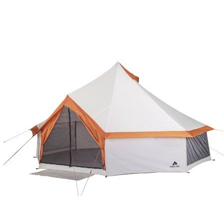 Ozark Trail 8 Person Cabin Tent Walmart Com Yurt Tent Family Tent Camping Yurt Camping