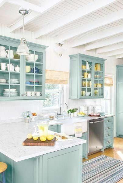 Beach House Decor Amazon Coastal Craftsman Interiors Beachcottagestyle Custom Kitchen Cabinets Beach Cottage Kitchens Best Kitchen Cabinets