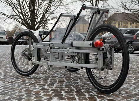 N55 S Spaceframe Tricycle Can Be Built At Home From Plans Tricycle Vehicles Wheelchairs Design