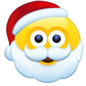 Emoticon Babbo Natale.Emoticons Natale Emoticons Babbo Natale Immagini Vignette Babbo Natale