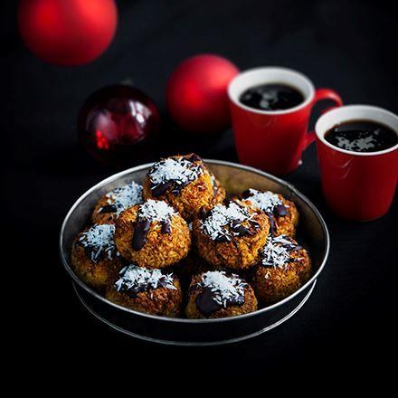 kokoskakor med saffran