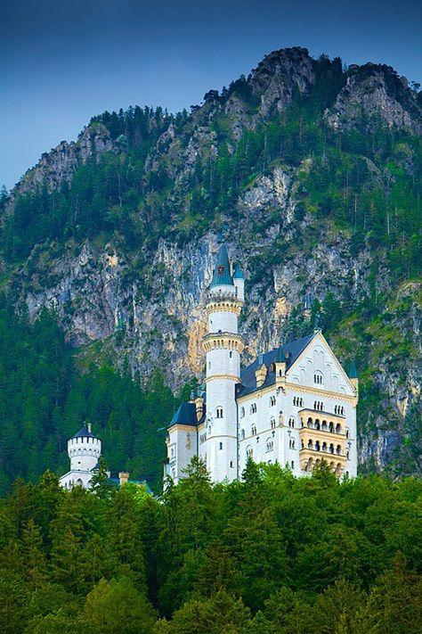 50 Of The Most Beautiful Places In The World Part 4 Neuschwanstein Schloss Neuschwanstein See