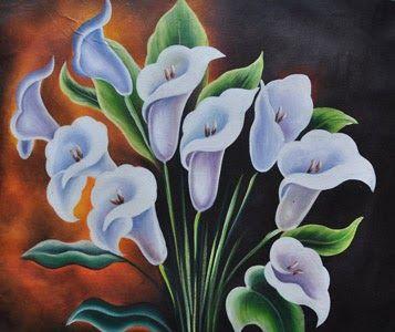 Paling Populer 12 Gambar Dua Dimensi Bunga Di 2020 Lukisan Bunga Seni Bunga