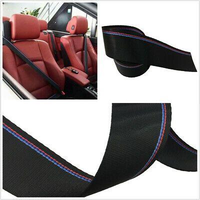 Universal Adjustable Auto Car Seat Belt Webbing Blue Red 3 8m European Standard In 2020 Car Seats Belt Seat Belt