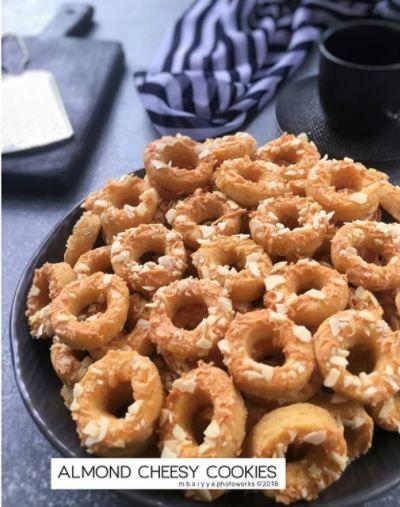Resep Cookies Almond C 2020 Brilio Net Di 2020 Makanan Makanan Dan Minuman Cemilan