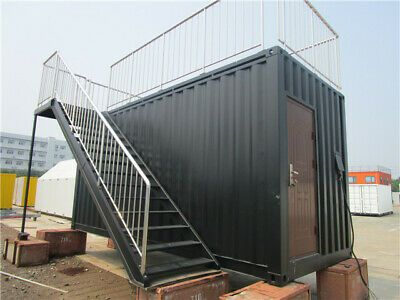 Shipping Container Kiosk Cafe Coffee 160 Sq Ft Ebay Shipping Container Container Homes For Sale Container House